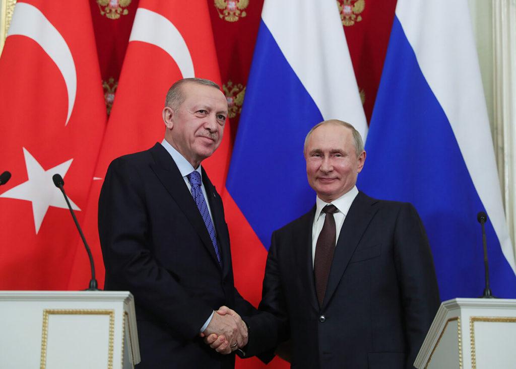 Cumhurbaşkanı Recep Tayyip Erdoğan, Rusya Devlet Başkanı Putin'le telefonda görüştü