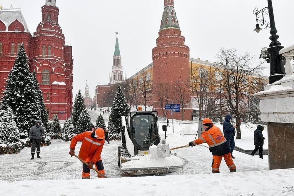 Moskova Kış