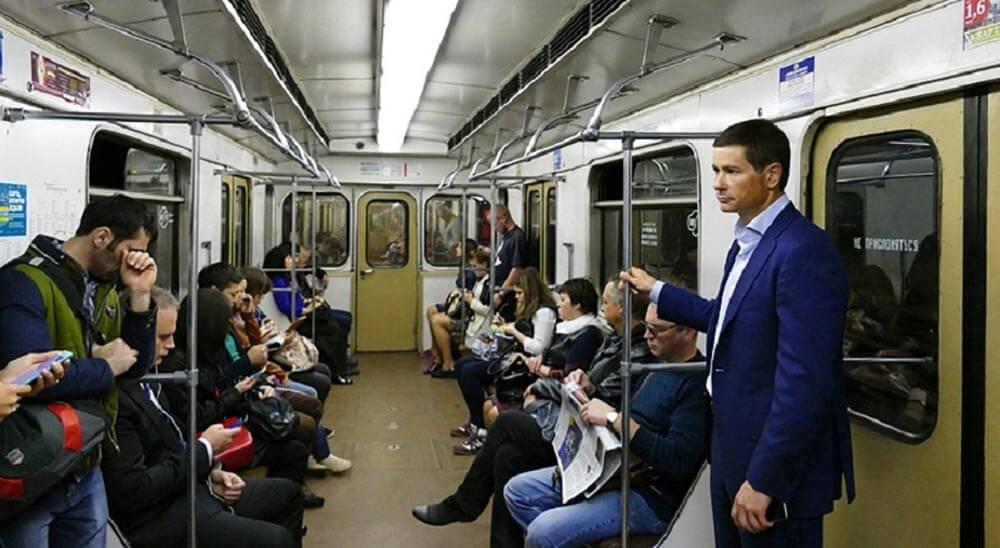Moskova metrosundaki seyahat sayısı