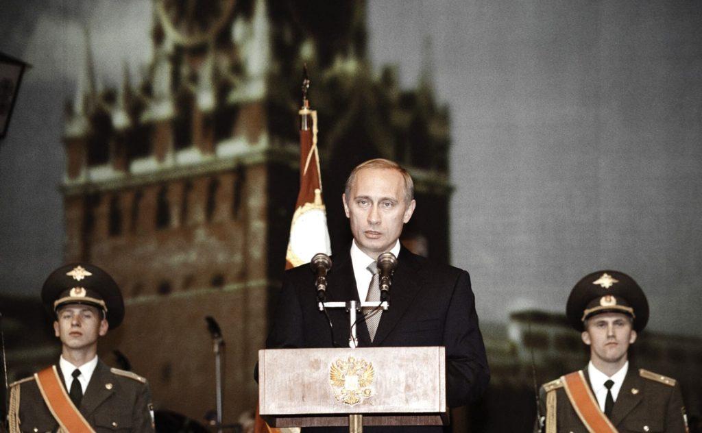 Rusya Devlet Başkanı Vladimir Putin -Devlet Başkanı (Kremlin.ru)