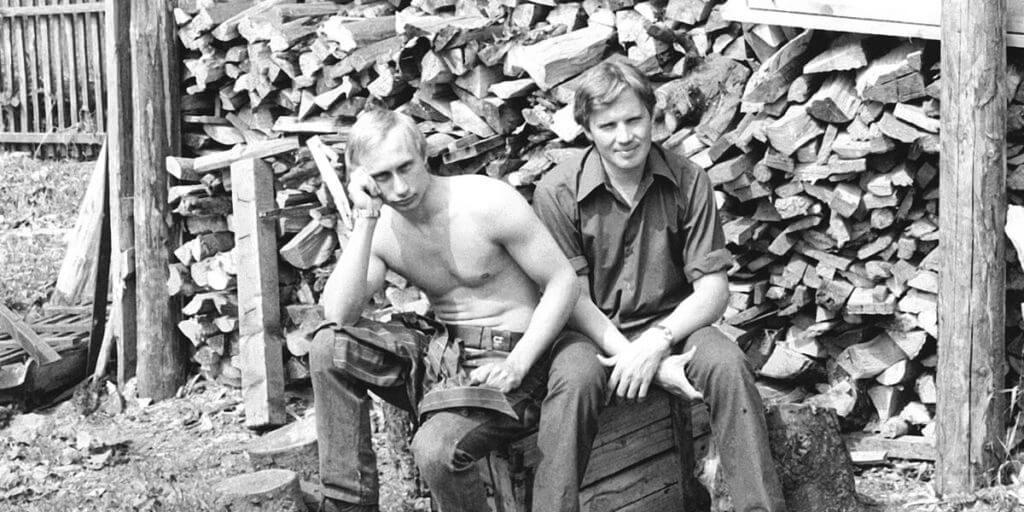 Rusya Devlet Başkanı Vladimir Putin gençlik resmi - (Kişisel arşivi Kremlin.ru)