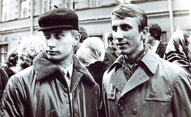Rusya Devlet Başkanı Vladimir Putin'in gençlik yılları (Kişisel arşivi Kremlin.ru)
