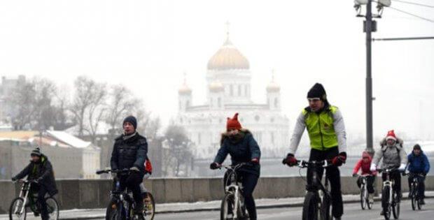 Moskova'da bisiklet kiralama istasyonları