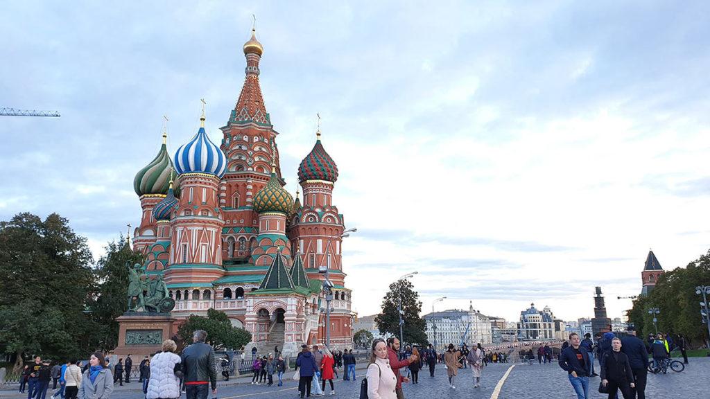 Kızıl Meydan - Aziz Vasil Katedrali